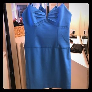 Black Halo Blue Mini Dress Size 6